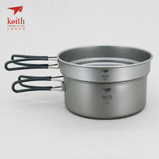 Keith Ti6017 2-Piece Pot and Pan Cook Set-2.05 L (Limited Time Promotion Price)