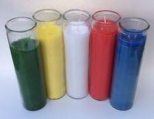 Elemental 7 Day Prayer Candle Set With Bonus White Candle