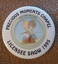 "Precious Moments Chapel Licensee Show 1995 ""Love One Another"" Pin"