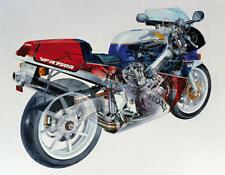 1987 HONDA VFR 750R RC30 CUTAWAY VINTAGE MOTORCYCLE POSTER PRINT 28x36