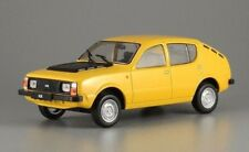 IZH 13 START Russian Hatchback Compact Car Yellow Diecast Model 1:43 Scale 1972