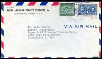 PANAMA TO USA Air Mail Cover 1946