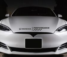 Bonnet Performance Sticker Fits Honda Logo Premium Qaulity Decals RS11