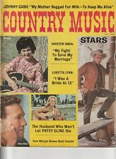 COUNTY MUSIC VINTAGE MAGAZINE FALL 1964 PATSY CLINE JOHNNY CASH MARTY ROBBINS