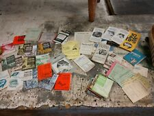 Vintage Lot Hunting, Fishing Trapping Regulations and pamplets 1960's - 1980's