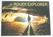 Instruction Manual Book 2003 Rolex Explorer Booklet Owners