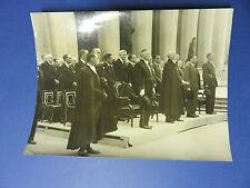 Les obsèques de Paul Valery -25 juillet 1945 - De Gaulle - Capitant - Teitgen...