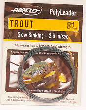 AIRFLO Polyleader TROUT 8ft / 2,40Mtr.  SLOW SINKING