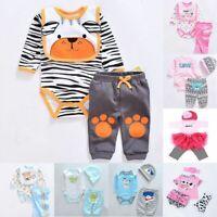 22''-23''Lifelike Baby Dolls Romper Dress Clothes for Reborn Baby Girl Boy Dolls