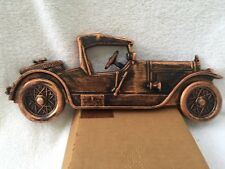 VINTAGE COPPERCRAFT GUILD STUTZ CAR #3426 WALL PLAQUE