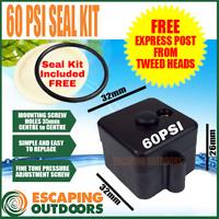 Water Pump Pressure Switch 60PSI + FREE Seal Kit 12v 12 volt CARAVAN CABIN FL