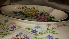Royal Winton piatto dipinto a mano motivo fiori