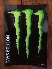 Monster Energy Decal / Sticker - Genuine - Brand New