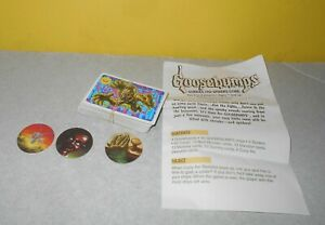 1995 Goosebumps Shrieks and Spiders Board Game R.L. Stine Replacement Parts