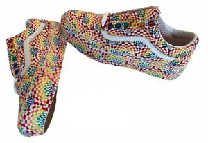 Vans Old Skool (Platform) Pride Canvas Multi Shoes Womens Sz 10 Shoes NIB New ⭐️
