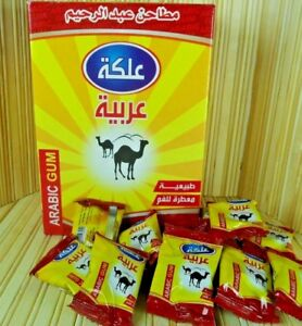 Natural Arabic Chewing Gum 3g× 48pcs Without sugar & additives علكة عربية
