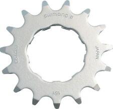Bicicleta Shimano piñón DXR cs-mx66 15 dientes cromo