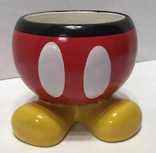 "DISNEY Mickey Mouse Ceramic 5"" Planter Flower Pot Planter or Decorative Bowl"