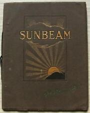 SUNBEAM AUTO vendite BROCHURE Gen 1926 14/40HP - 20/60HP - 30/90HP - tre litri