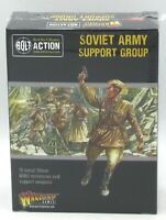 Bolt Action 402214004 Soviet Army Support Group (WWII) Command & Weapon Teams