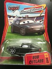 Disney Pixar Cars Diecast BOB CUTLASS Commentator Piston Cup Radiator Springs