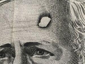 Rare Print Flaw Void on Forehead of Tebbutt $100 Dollar Australian Error Note