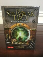 The Steampunk Tarot Card Set W/ Guidebook Wisdom From The Gods Of The Machine