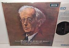 SXL 6006 Holst The Hymn Of Jesus BBC Symphony Orchestra & Chorus Boult HP TAS NB
