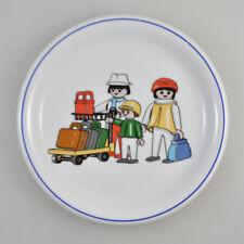 """Assiette - Playmobil - """" Véhicules/Trafic """" - Arzberg Porcelaine - Vintage"""