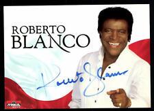 Roberto Blanco Autogrammkarte Original Signiert ## BC 47408