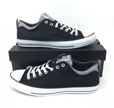 NEW Converse Chuck Taylor Dbl Clr Ox Black Graphite Low Shoes Sneakers Mens 12