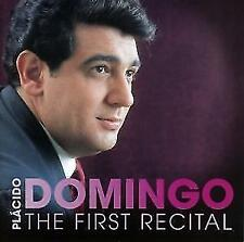 PLACIDO DOMINGO THE FIRST RECITAL CD NEU
