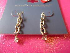 Crystal Dangle Earrings 1 Inch