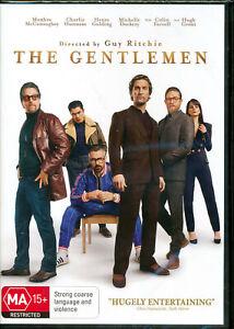The Gentlemen DVD NEW Region 4 Guy Ritchie film Matthew McConaughey Hugh Grant