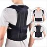 Men Women Posture Corrector Back Support Adjustable Shoulder Lumbar Brace Belt