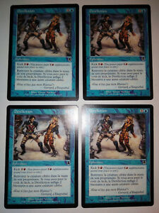 MTG Magic : Playset (4x) Dereliction Jilt  Apocalypse VF Exc