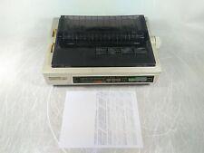 Panasonic KX-P2123 Quiet Printing 24 Pin Color Dot Matrix Printer Tested