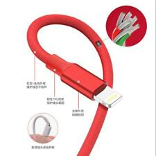 5-Pack Data Sync Fast Charging Lightning Usb Cable For Apple iPhone 10 Feet red