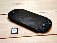 PlayStation Vita Slim Video Game Console SCRATCHED with Final Fantasy X Tested