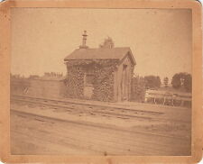IVY COVERED RAILROAD STATION ~ MAINE CENTRAL RAILROAD? ~ c. - 1880