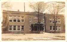 Ravenna Michigan High School Real Photo Antique Postcard K89415