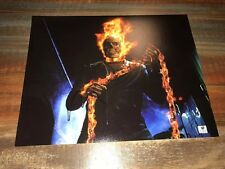 Nichols Cage Signed 11x14 GA COA Ghost Rider Iconic Image Auto Autograph Nice!