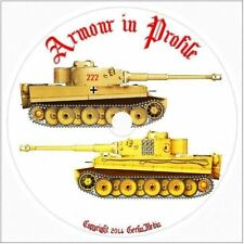 Armour in Profile Tanks of WWII 24 Vol CD DVD AFV War German American British