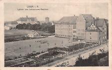 Lissa in Posen Lehrer und Lehrerinnen - Seminar Postkarte 1916