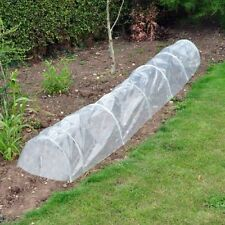 Pack of 5 Clear Polythene Garden Grow Tunnel Cloche by Kingfisher