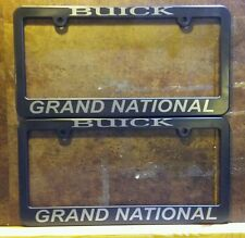 2 Buick license plate frames GN GNX Grand National TurboT TType Nhra pro street