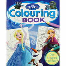 Disney Frozen Colouring Book by Disney (Paperback), Children's Books, Brand New