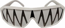 Macho Man Randy Savage Shark Tooth White See Through Party Sunglasses
