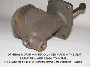 1958 1959 1960 1961 BRAND NEW MASTER CYLINDER Dodge Plymouth 58 59 60 61