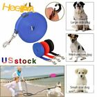 NEW 6/15/20/30/50/100FT Long PP Dog Pet Training Obedience Recall Lead Leash US